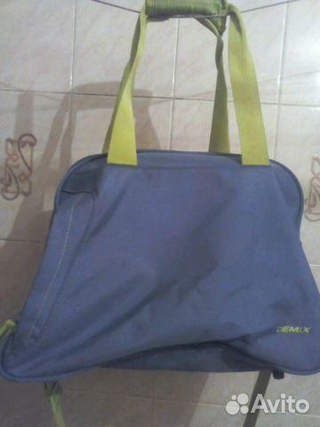 0f7988d5 Спортивная сумка Demix.бу купить в Санкт-Петербурге на Avito ...