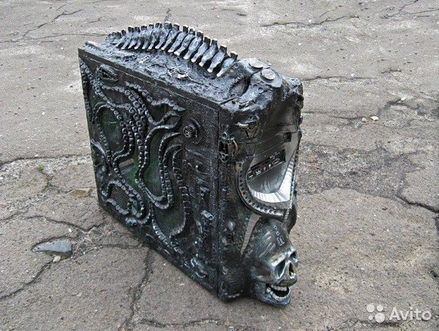 Резной корпус для компьютера