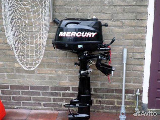 Мотор лодочный меркури 5 лс