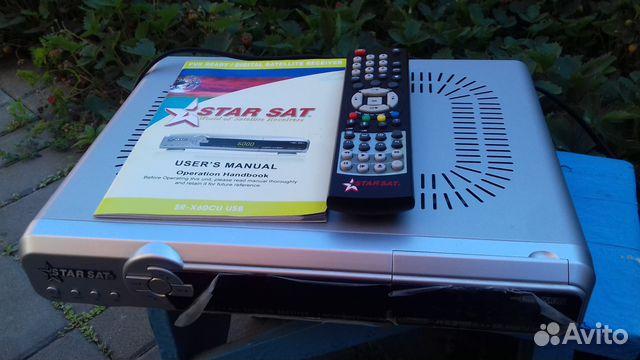 Спутниковый ресивер StarSat SR-X60CU USB купить в Ростовской
