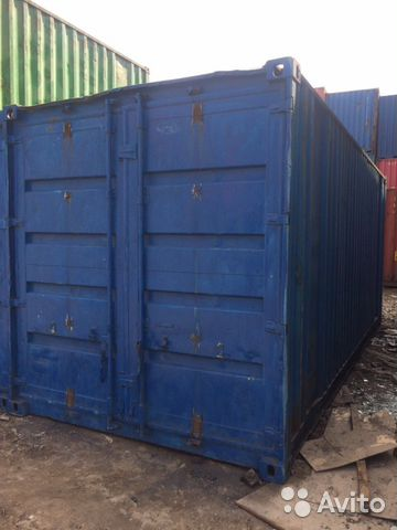 89370628016 Container Industrial 6 meters