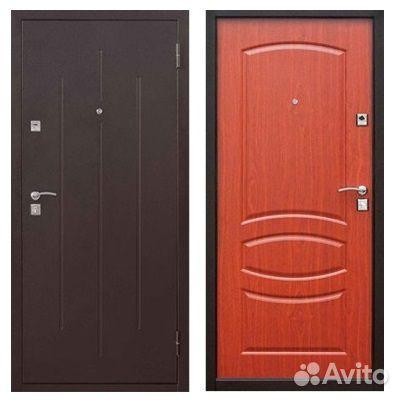 Входная дверь Стройгост 7-2 Итальянский орех(860R) 84822644225 купить 1