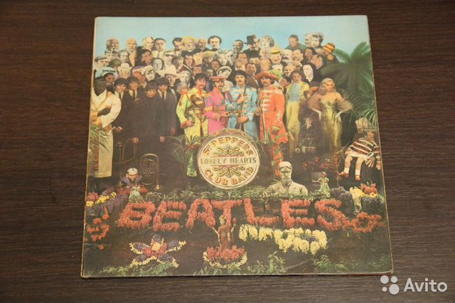 The Beatles Sgt Peppers 1967г— фотография №1