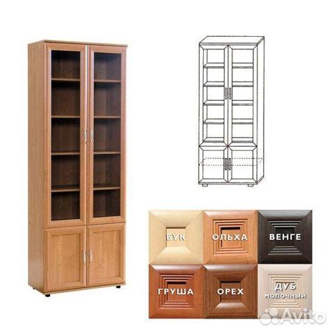 Книжный шкаф n 108 купить в москве на avito - объявления на .