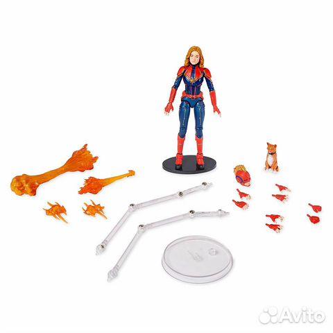 Фигурка Marvel Select Captain Marvel (Disney Store купить 3