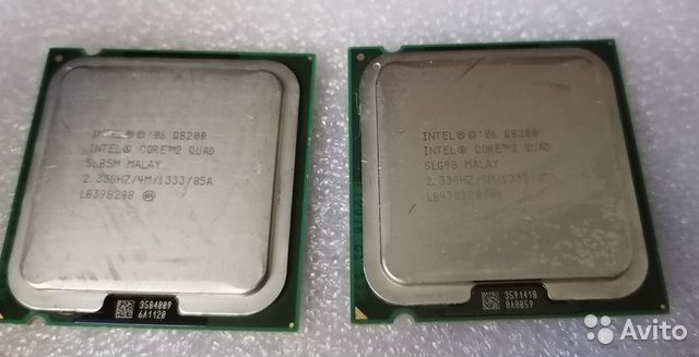 Quad Q8200 4 ядра