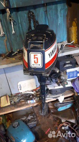 Лодочный мотор yamaha 5 89605752672 купить 1