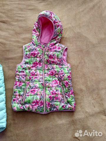 Продаю куртку и жилетку для девочки 89997303112 купить 4