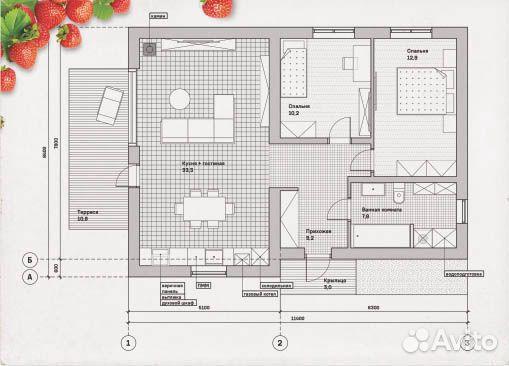 Дом 78 м² на участке 9 сот. 89097950030 купить 2
