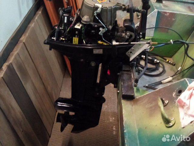 Продается лодочный мотор 2тк Нисан купить 7