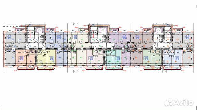 2-к квартира, 67.8 м², 7/9 эт. 89301325106 купить 7