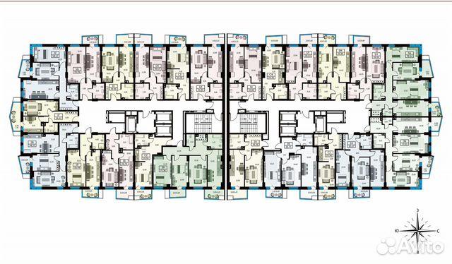 1-к квартира, 39.6 м², 19/26 эт. купить 10