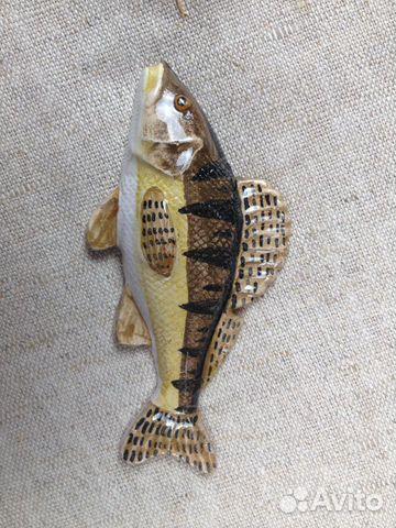 Керамическая рыбка-магнит Судак