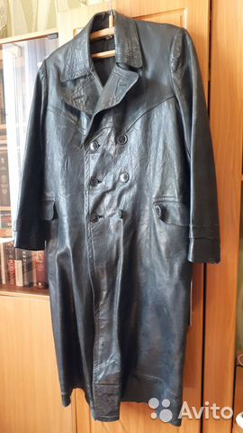 Кожаное пальто  89246188877 купить 1