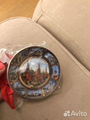 Магнит сувенир Москва на подставке новый  89816849114 купить 1