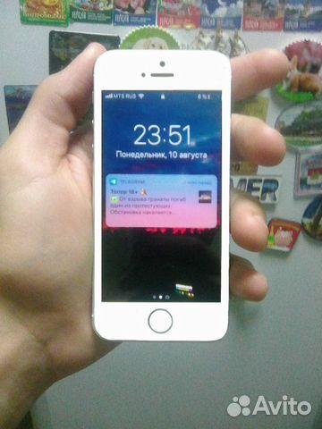 Продам в хорошем состоянии iPhone 5s 16gb  купить 3