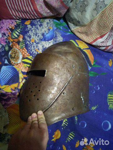 Шлем стальной бацинет с забралом  89044498223 купить 5