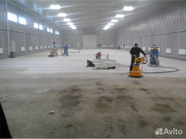 обеспыливаем бетон