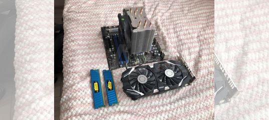 Комплект RAM + M/B + CPU + GPU
