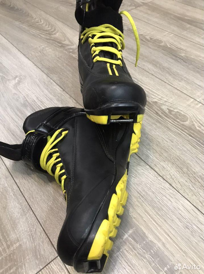 Лыжные ботинки mechanics motor 38 размер  89292779277 купить 4