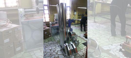 Монтаж дымохода астрахань установка камина в доме спб