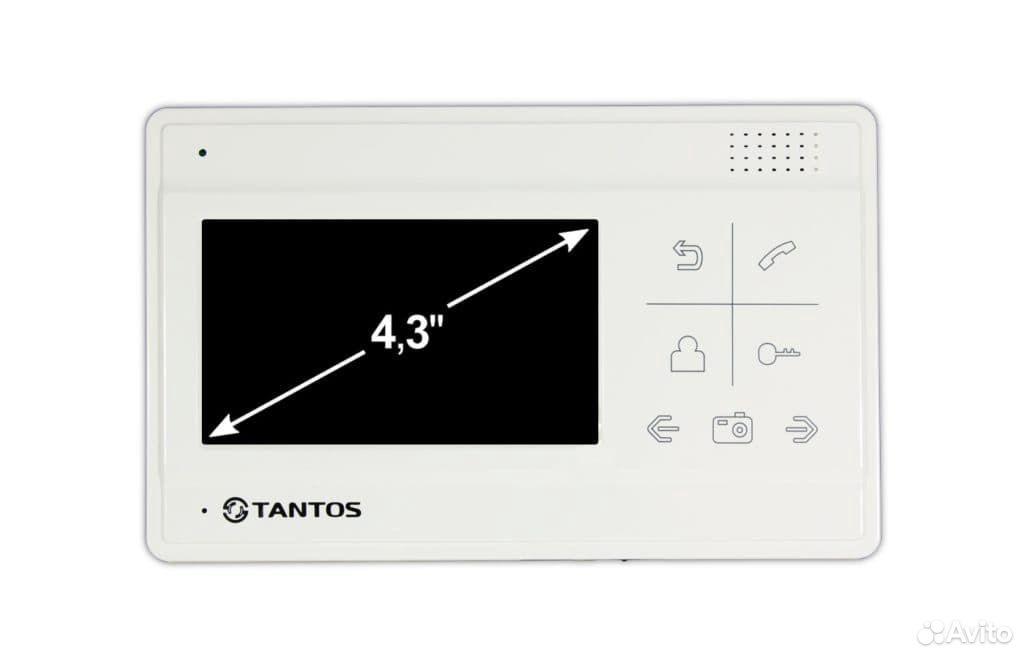 Видеодомофон Tantos