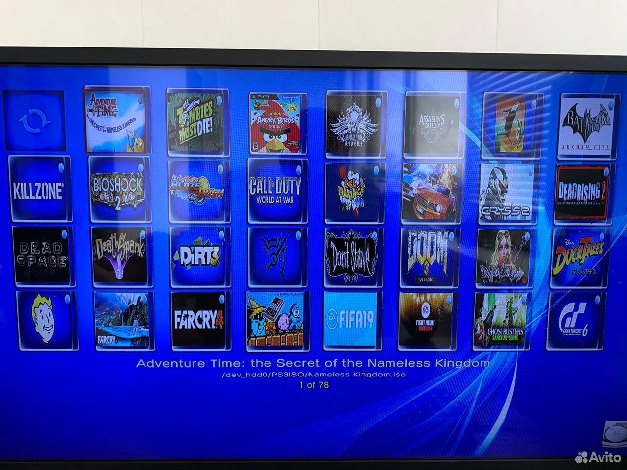 PS3 super slim 500gb 80 игр