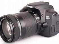 Canon 650D(18-135мм IS) Бленда.Сумка.16гб.Коробка