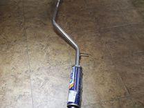 Резонатор(глушитель) рено логан (ремонтный)