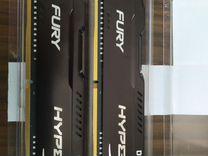 Kingston HyperX fury DDR4 2666MHz 8gb (2x4 kit)