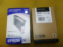 Картриджи Epson stylus pro 4000/4800/4880/7600/960
