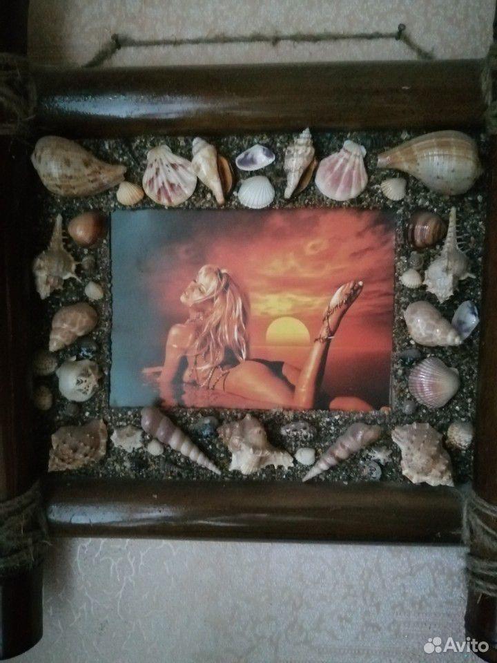 Деревянная бамбуковая настенная рамка для фото А4  89803340968 купить 1