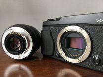 Камера fuji X-E1 + fujinon XF 18mm f2