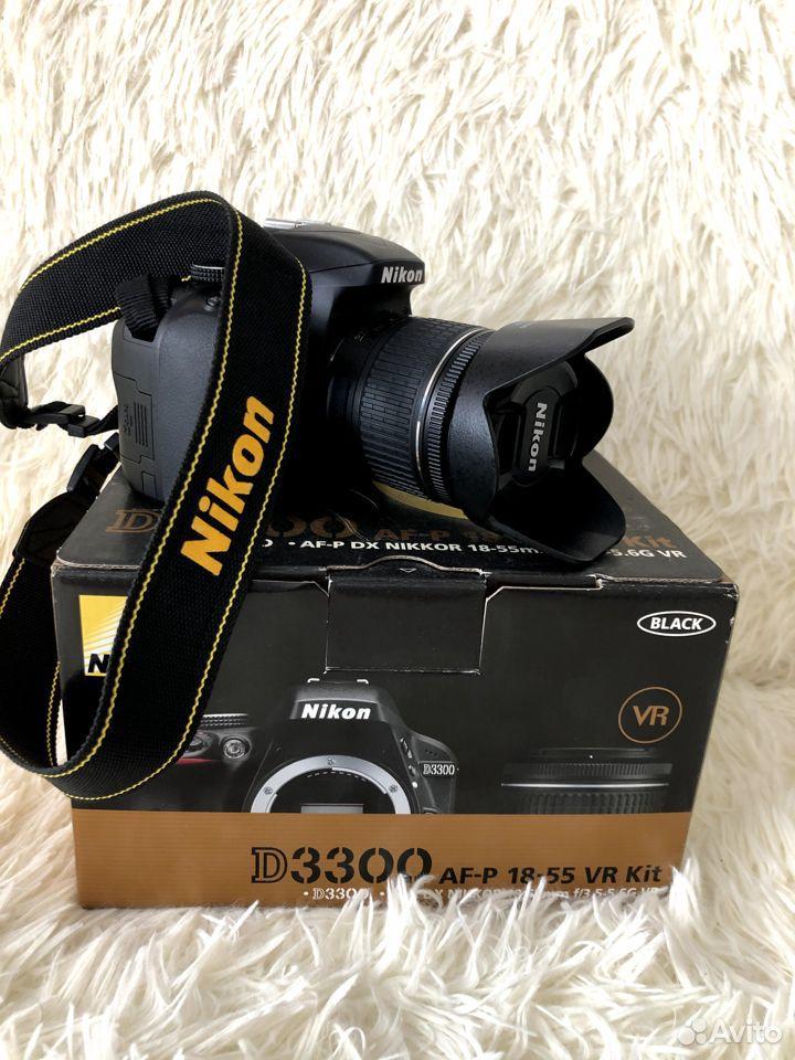 Фотоаппарат Nikon D3300AF-P 18-55VR Kit зеркальный  89177610980 купить 6