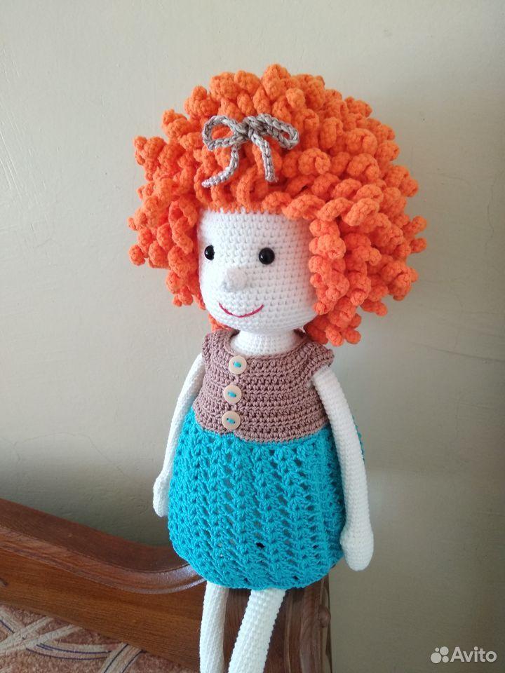 Куколка-кудряшка