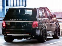 Фары задние Glohh на Range Rover Sport