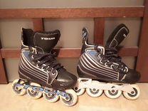 Хоккейные роликовые коньки