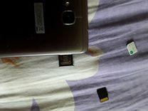 Адаптер для смартфона с гибридным лотком сим карт