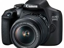 Canon 2000D KIT EF-S (18-55 II IS) Новый
