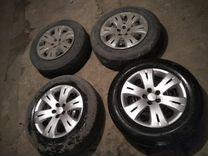 Продам комплект колес лето Bridgestone 215/65 R16