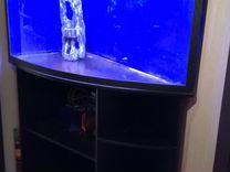 Акриловый аквариум Биора Кинжал 200л с тумбой