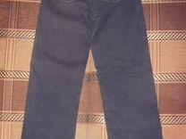 Утеплённые джинсы 46 р-ра