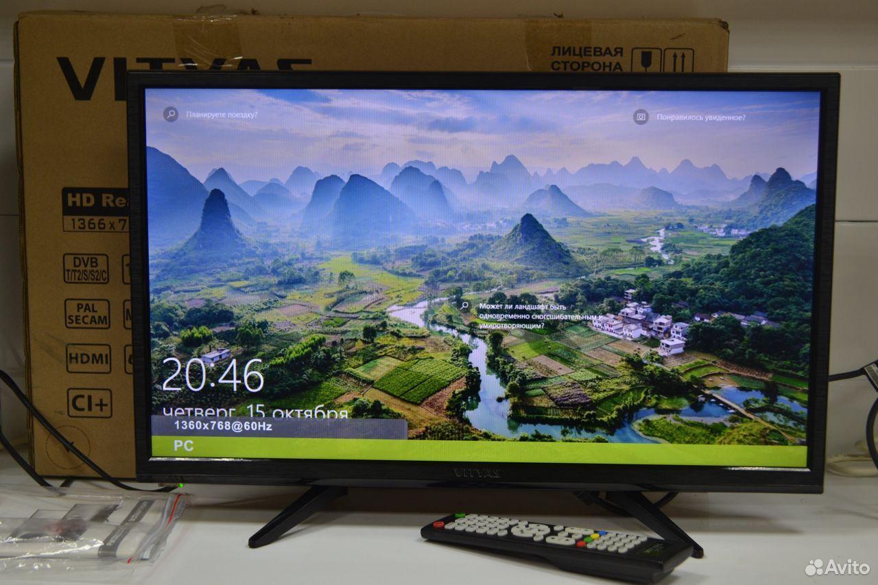 Телевизор Витязь 24LH0201 23.6 (2019) (60)  89080014775 купить 1