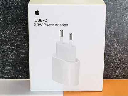 20W Apple USB-C Сетевой адаптер/Блок питания