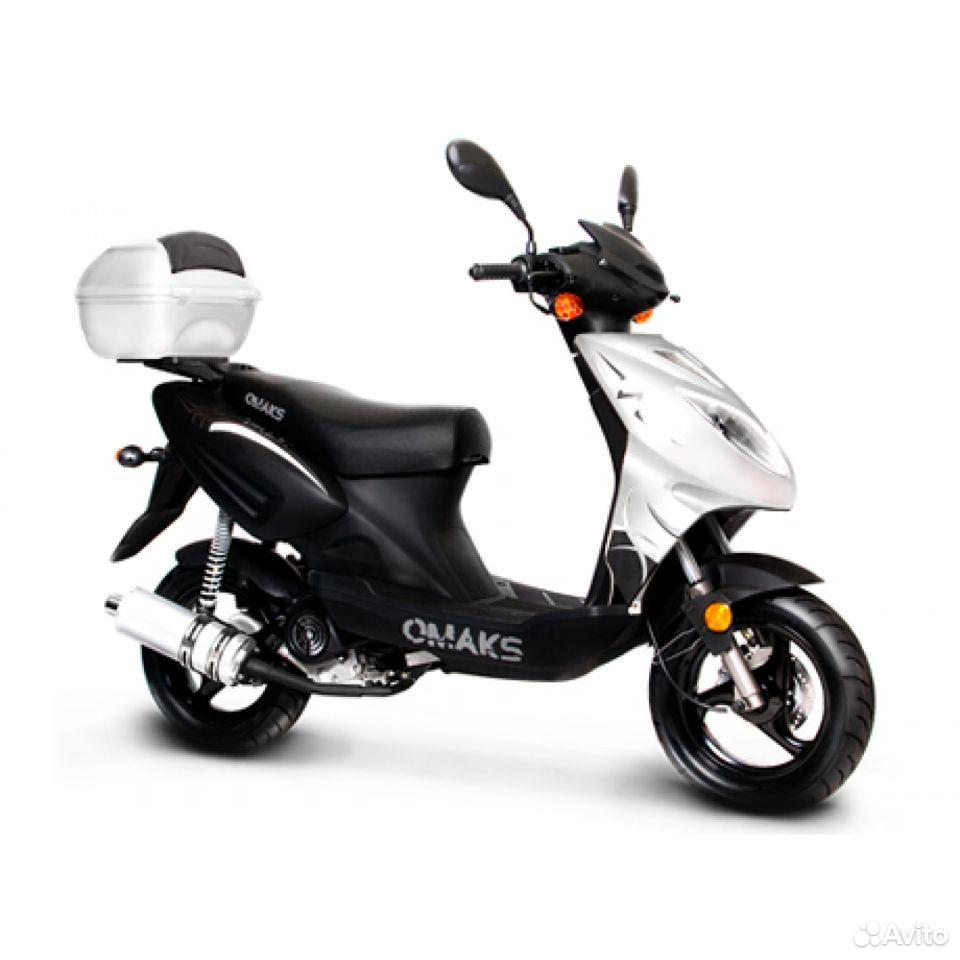 Продам или обменяю скутер Омакс 125 куб цв черный  89606393120 купить 1