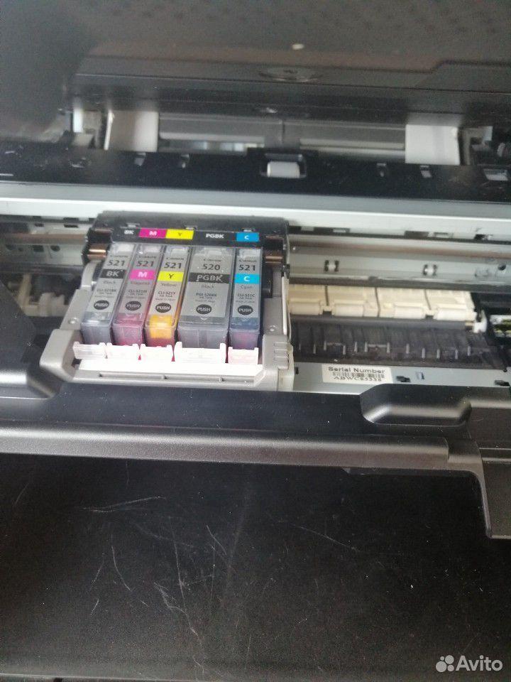 Продам цветной мфу Canon MP550 б/у  89226575869 купить 3