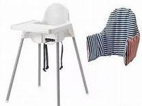 Стульчик для кормления IKEA + столешницы+ подушка