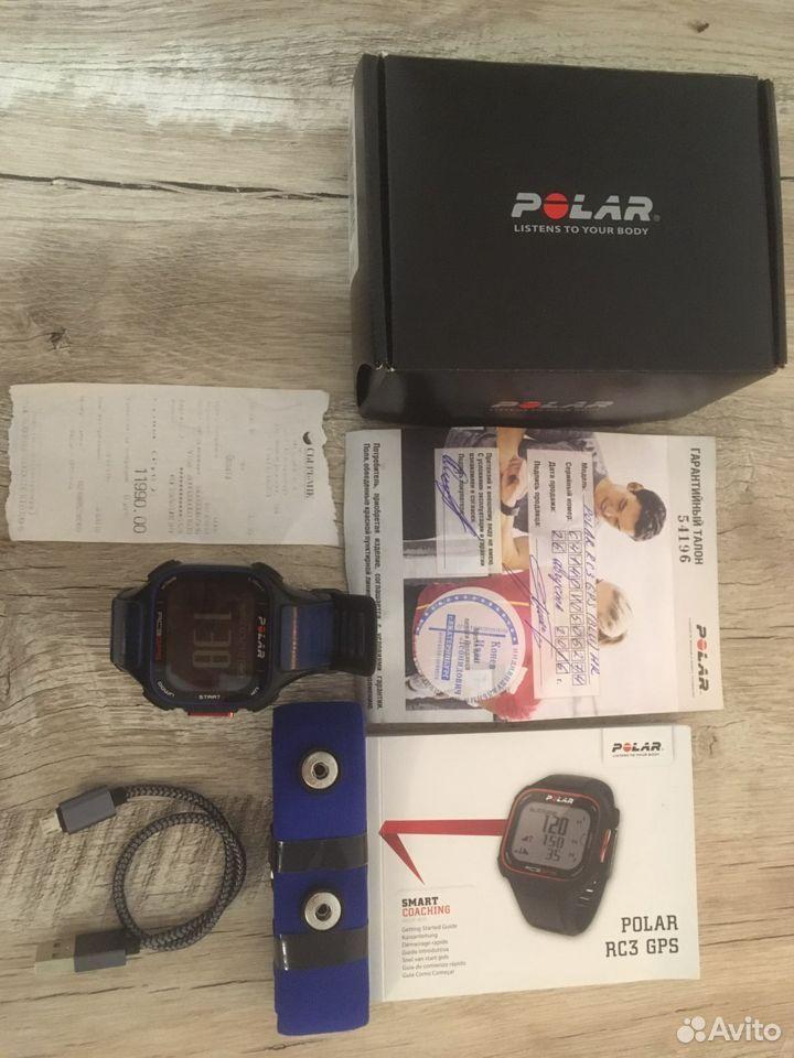 Часы с пульсометром polar RC3 GPS  89222240438 купить 1