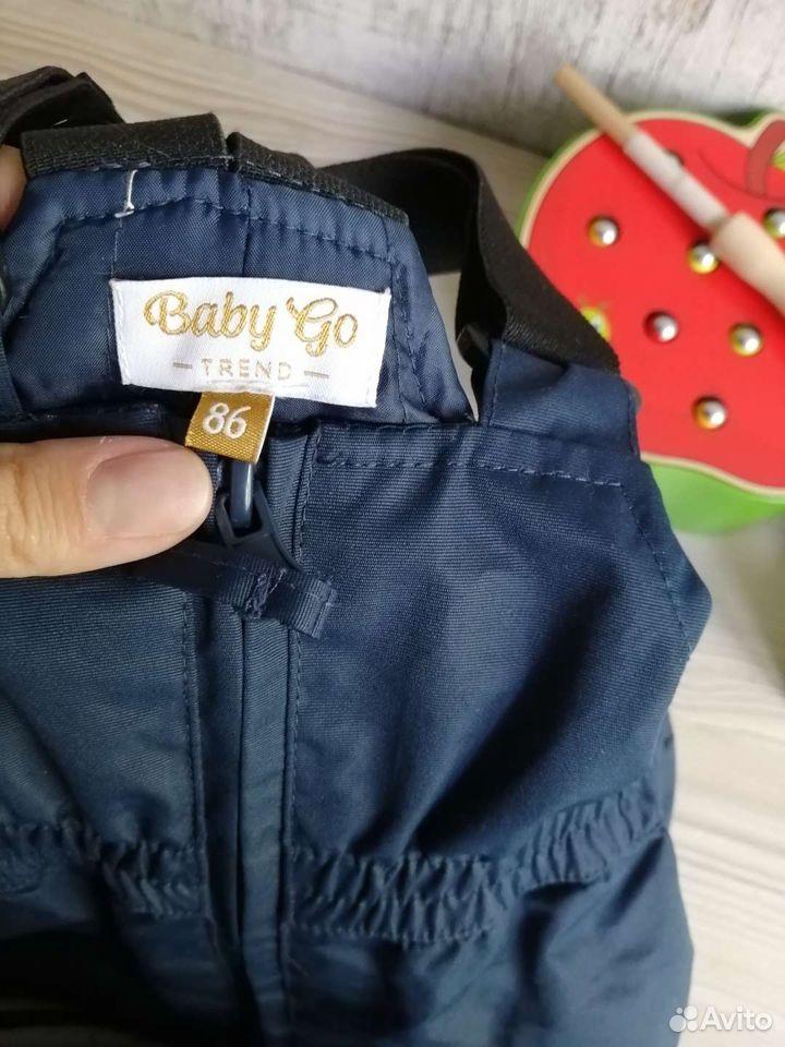 Полукомбинезон демисезонный, Baby GO, размер 86  89085241242 купить 2