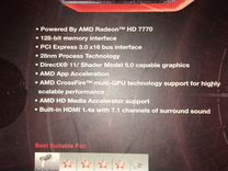 Видео карта PC HD 7770 1Ghz